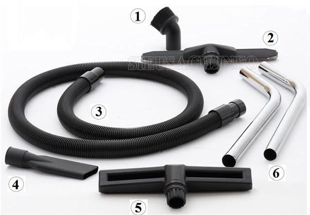 Hệ thống đầu hút giúp VJ 70-2 làm sạch nhiều loại bề mặt khác nhau