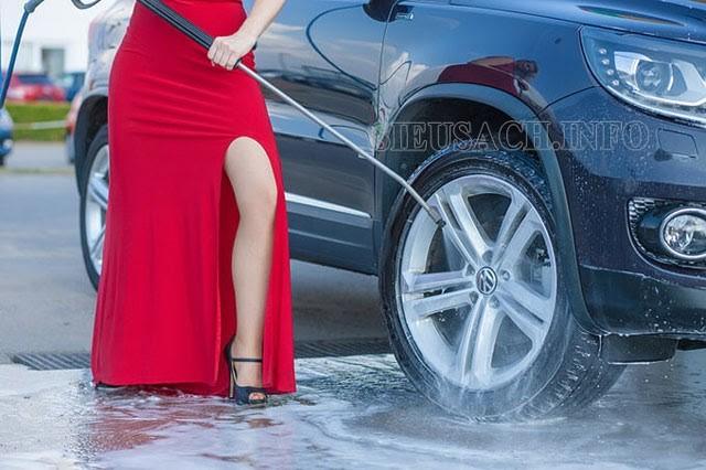 Những lưu ý khi sử dụng máy rửa xe tự hút Tashima