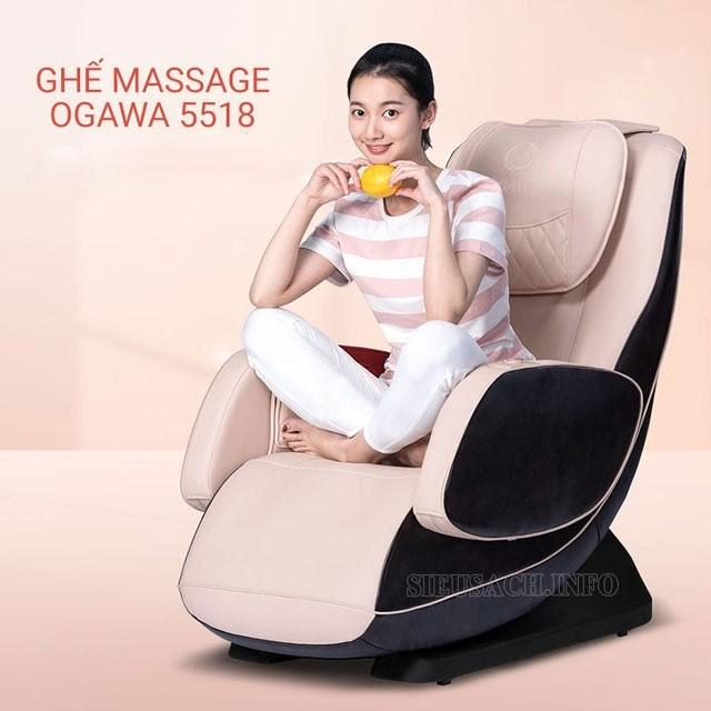 Những tính năng nổi trội của ghế mát xa Ogawa
