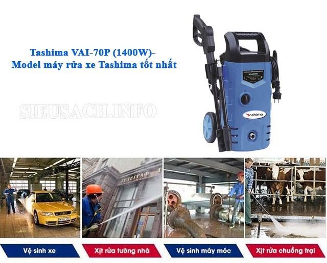 Tashima VAI-70P (1400W) có nhiều công dụng rất hữu ích