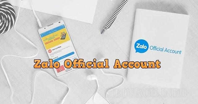 Các nguyên tắc bạn cần biết khi tạo zalo official account