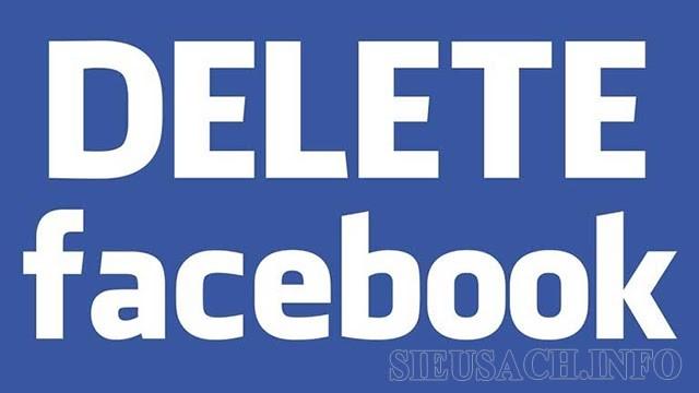 Muốn xóa Facebook làm thế nào?