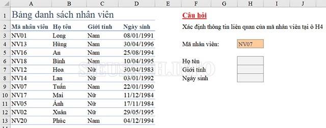 Tìm hiểu chi tiết về định nghĩa Match trong bảng tính Excel