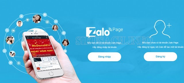 Tạo mật khẩu cho tài khoản zalo page