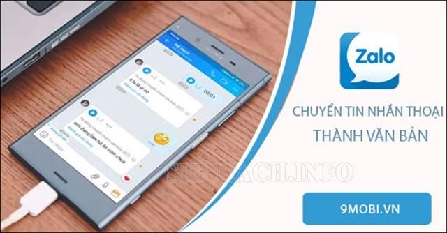 Zalo có thể gửi tin nhắn bằng giọng nói khi bạn không tiện gõ bàn phím