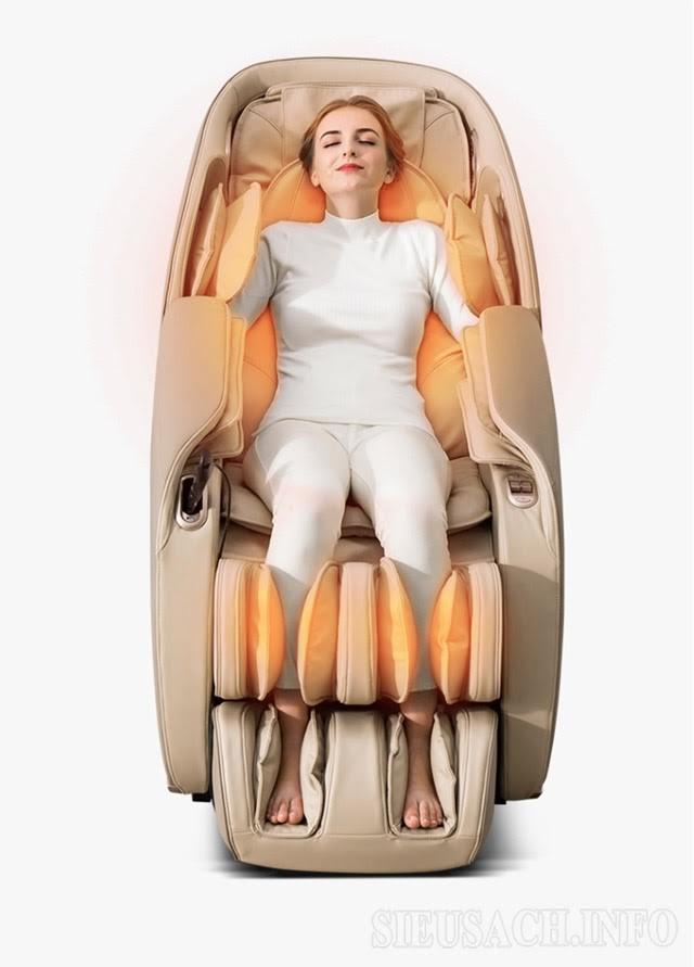 Ghế massage đến từ thương hiệu Kaitashi hàn đậu Nhật Bản