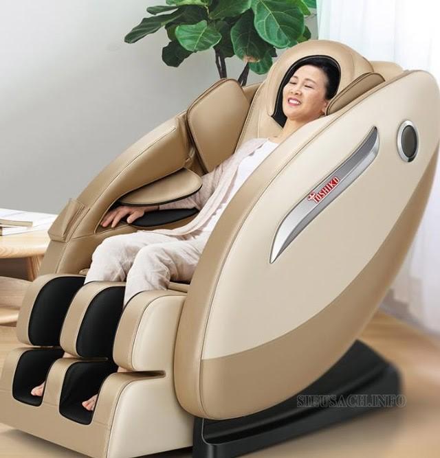 Ghế massage Toshiko nâng niu, chăm sóc sức khỏe gia đình bạn