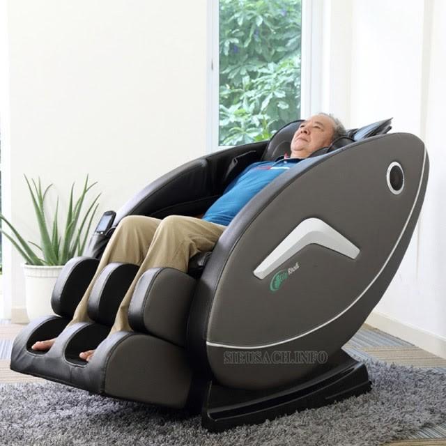 Ghế xung điện massage với các chế độ chăm sóc sức khỏe cực tốt
