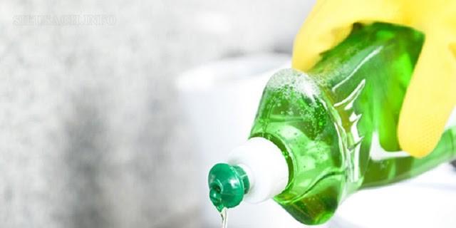 Nước rửa chén được dùng như một phương pháp xử lý vết ố hiệu quả