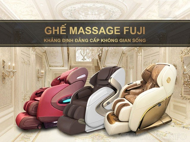 Đánh giá ưu nhược điểm của ghế massage Fuji Luxury