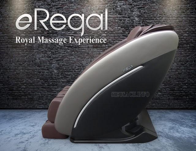Ghế massage Eregal với công nghệ massage không trọng lực