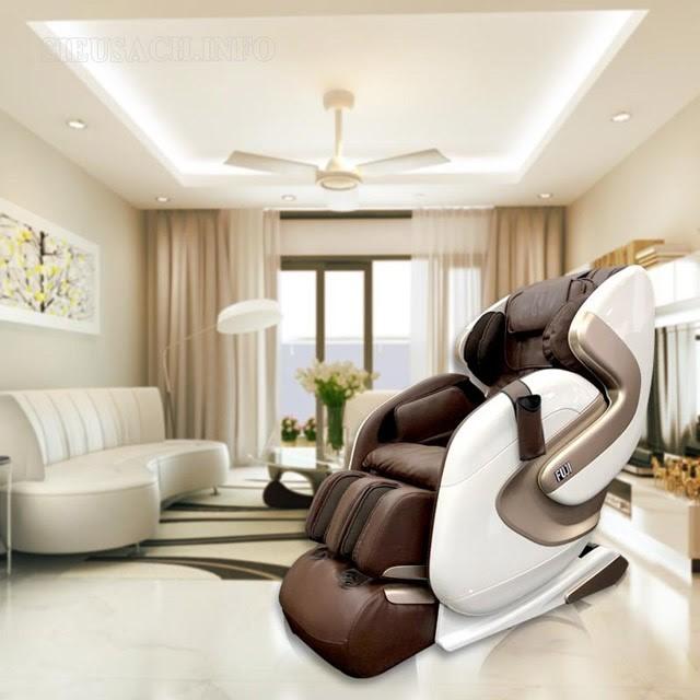 Ghế massage FJ 686 với liệu pháp trị liệu tiên tiến