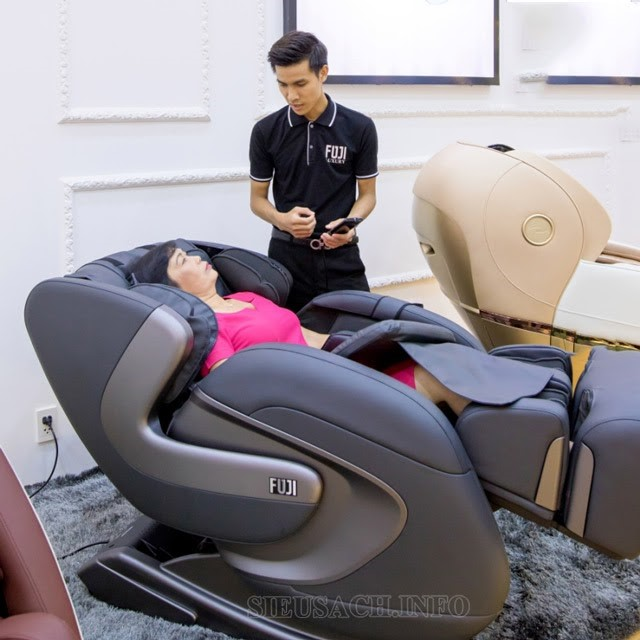 Ghế massage Fuji - sự lựa chọn tuyệt vời cho sức khỏe gia đình bạn