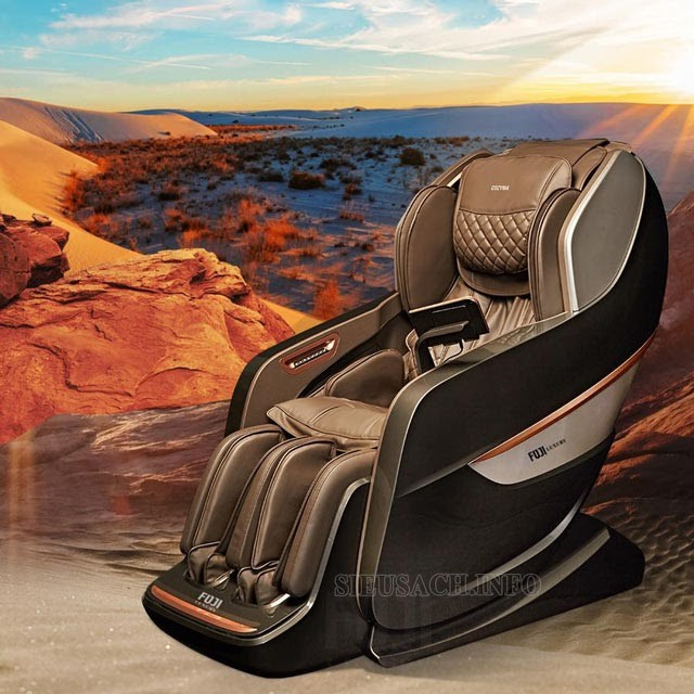 Thiết kế đẳng cấp, sang trọng của sản phẩm massage FJ S650